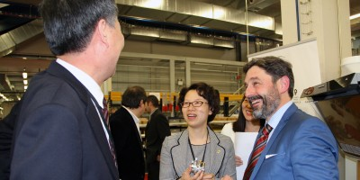 Kunshan Authorities visits MONDRAGON Corporation and Copreci