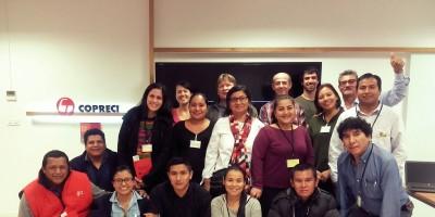 Estudiantes del curso en gestión económica y social para el desarrollo de la economía solidaria visitan Copreci