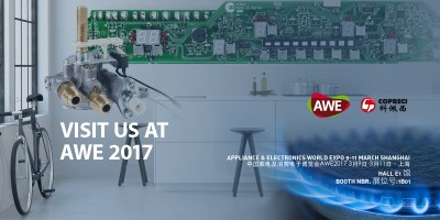 Copreci will be exhibiting at AWE 2017
