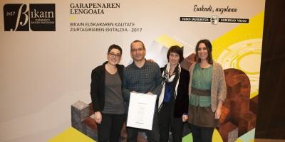 COPRECI ha conseguido el certificado BIKAIN