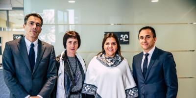 The Vice President of Ecuador visits Copreci