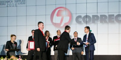 Copreci awarded by Amica as Supplier of the Year 2015