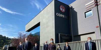 The Minister of Labor visits COPRECI