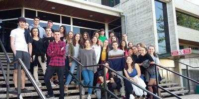 Estudiantes de la Ikastola Arizmendi de Eskoriatza visitan Copreci