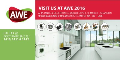 Copreci will be exhibiting at AWE 2016
