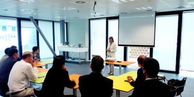 Una delegación coreana asiste al Innovation Tour organizado por Copreci y Eika en colaboración con Acede, el cluster del Hogar de Euskadi.