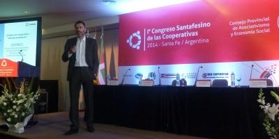 Copreci participates in the 1st. Co-operative Congress in Santa Fe, Argentina