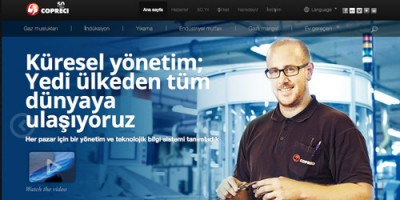 Copreci launches its website in turkish
